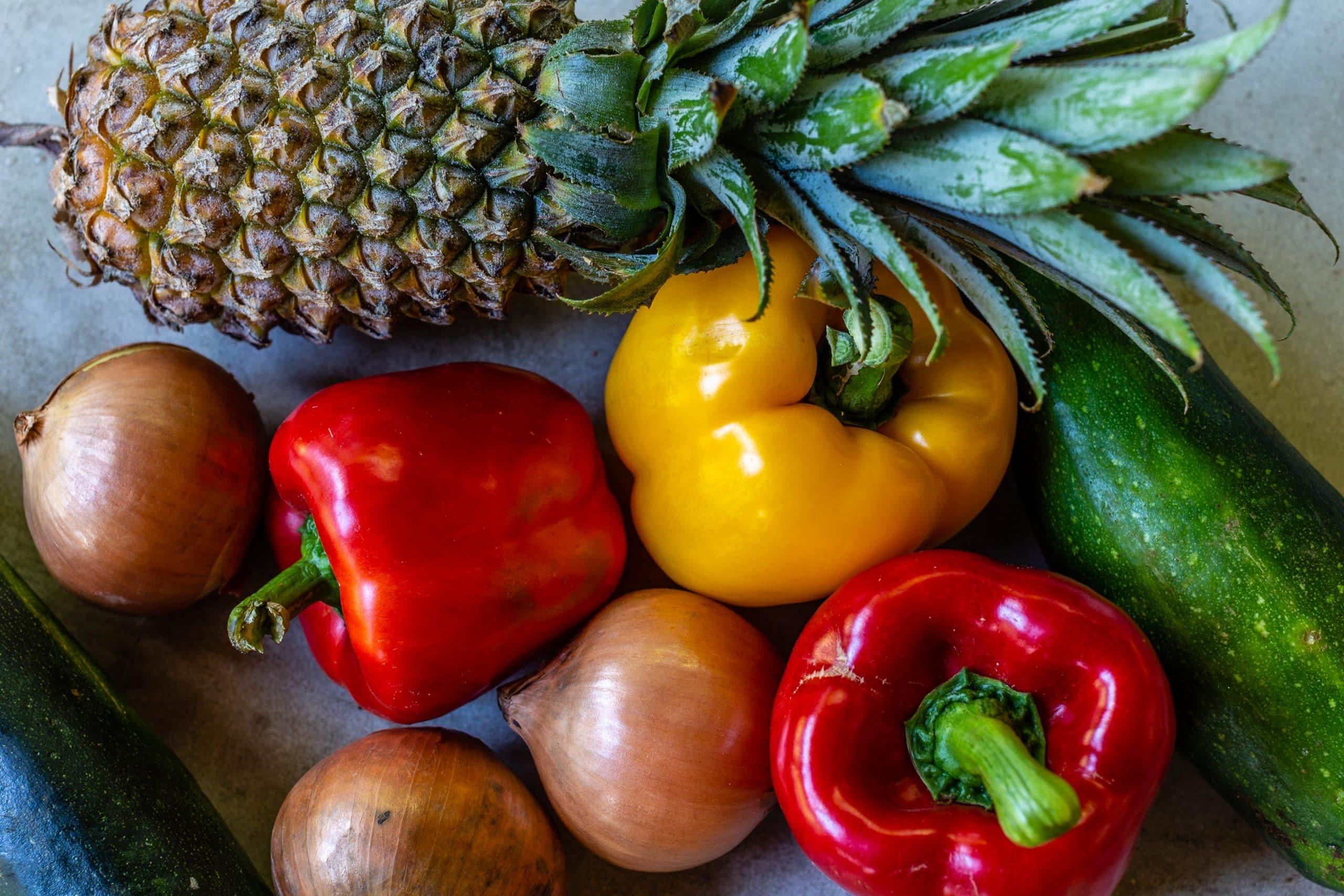 Veggie Kebabs Ingredients