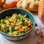Lentil Soup with Potatoes