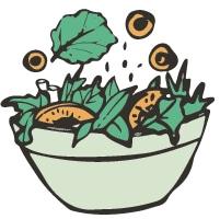 A Kind Spoon Salads Food Icon