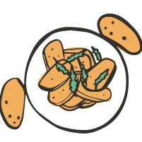 A Kind Spoon Sides Food Icon