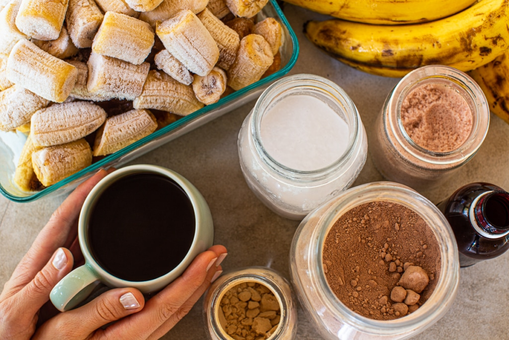 Smoothie Recipe with Coffee Ingredients