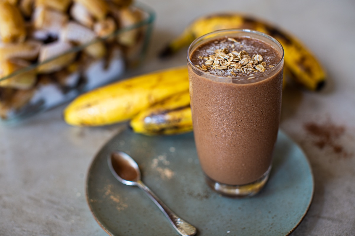 Smoothie Recipe with Coffee