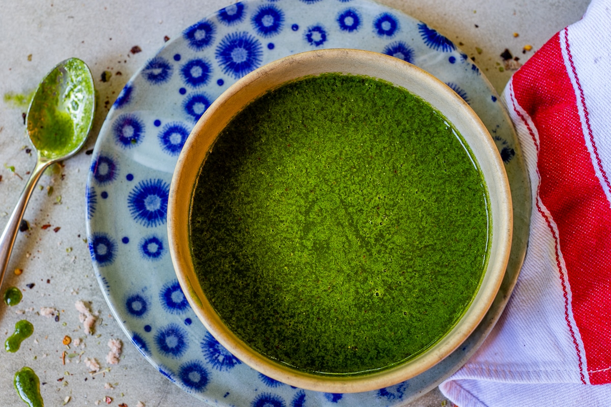 Chimichurri Sauce with Cilantro