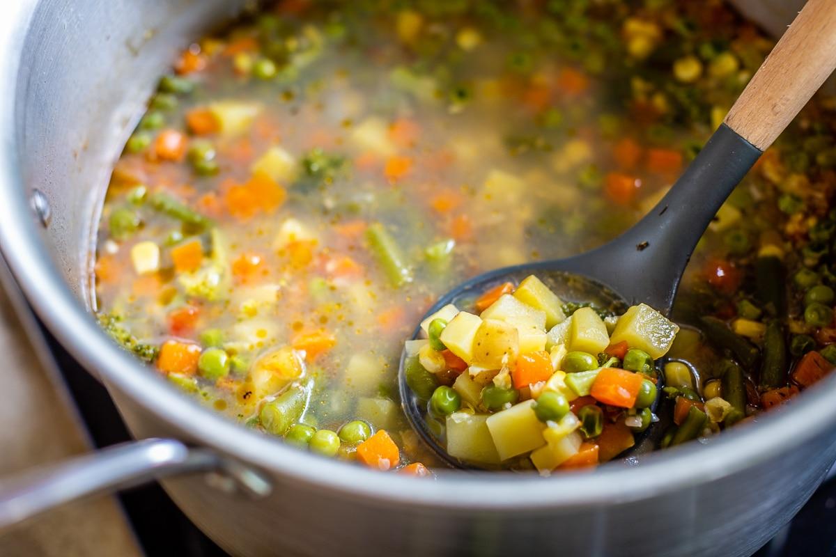 Vegetable Soup Recipe Easy