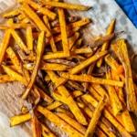 Sweet Potato Oven Fries Recipe