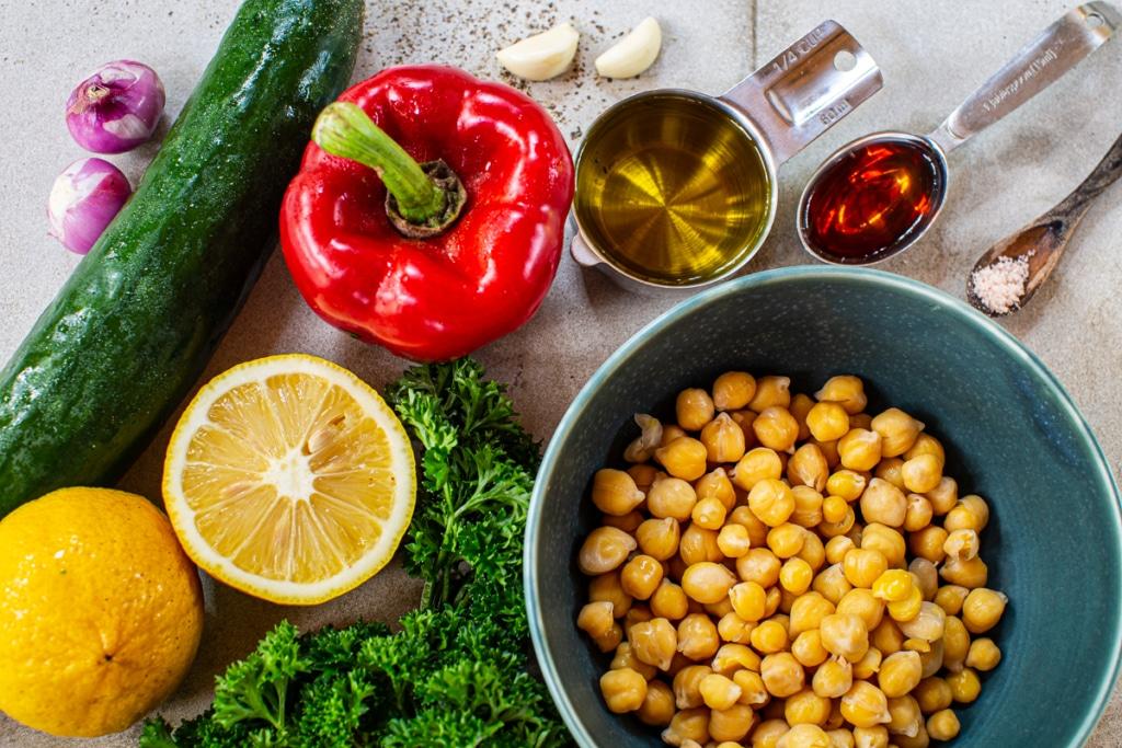 Easy Quinoa Salad Recipe Ingredients