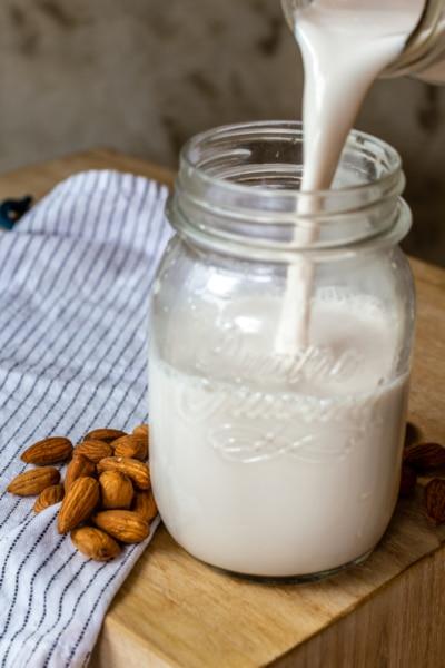 Smoothie with Almond Milk