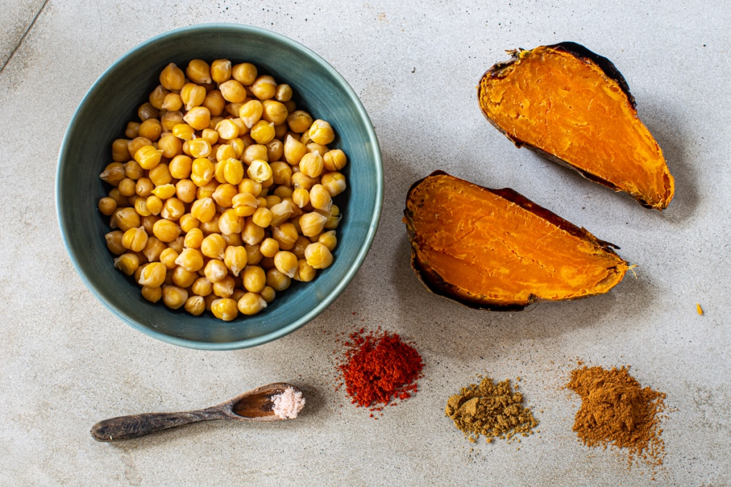 Healthy Sweet Potato Recipe Ingredients