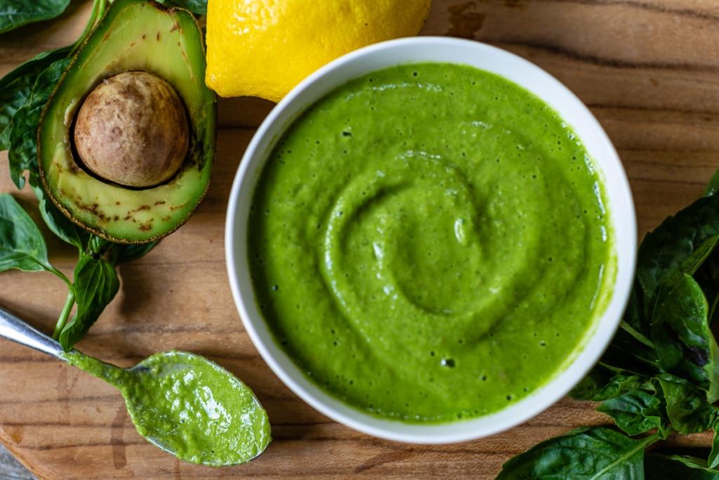Recipe for Avocado Dressing