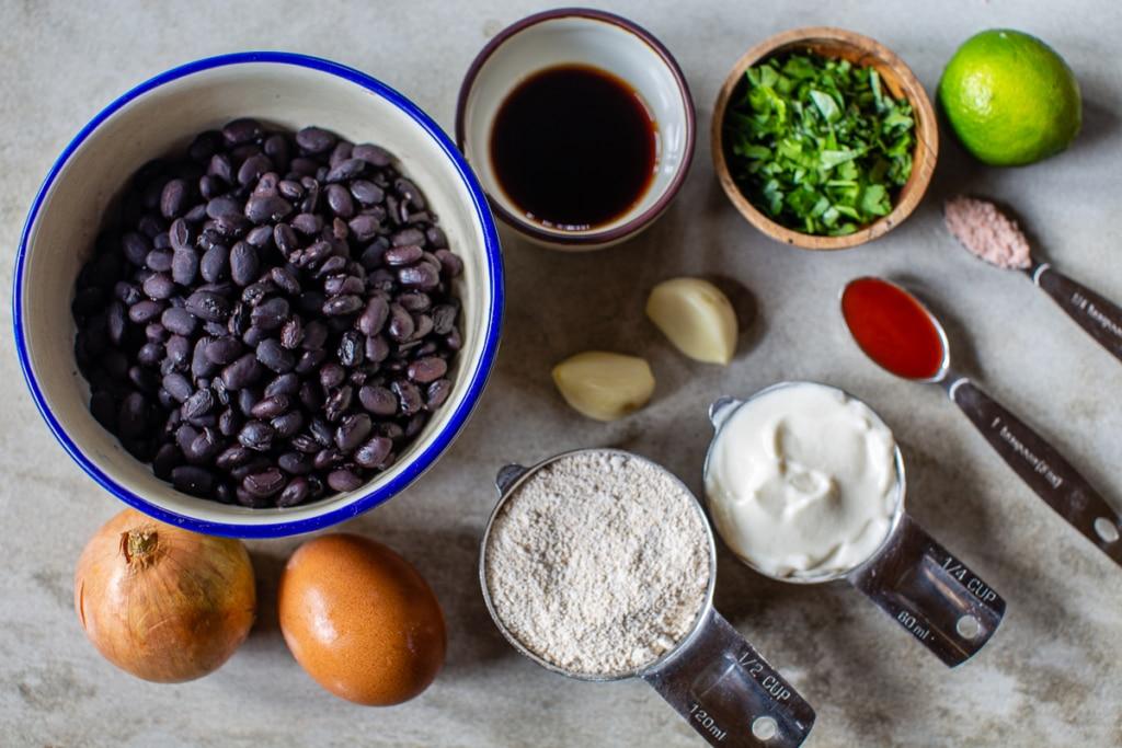 Veggie Burger Easy Recipe Ingredients