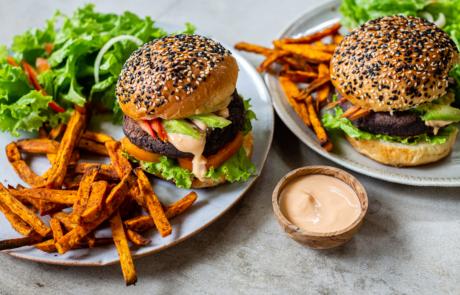 Veggie Burger Easy Recipe