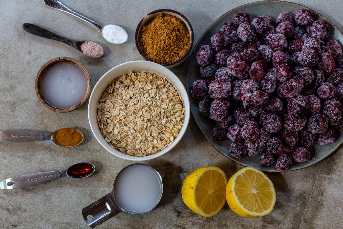 How to Make Blackberry Cobbler Ingredients