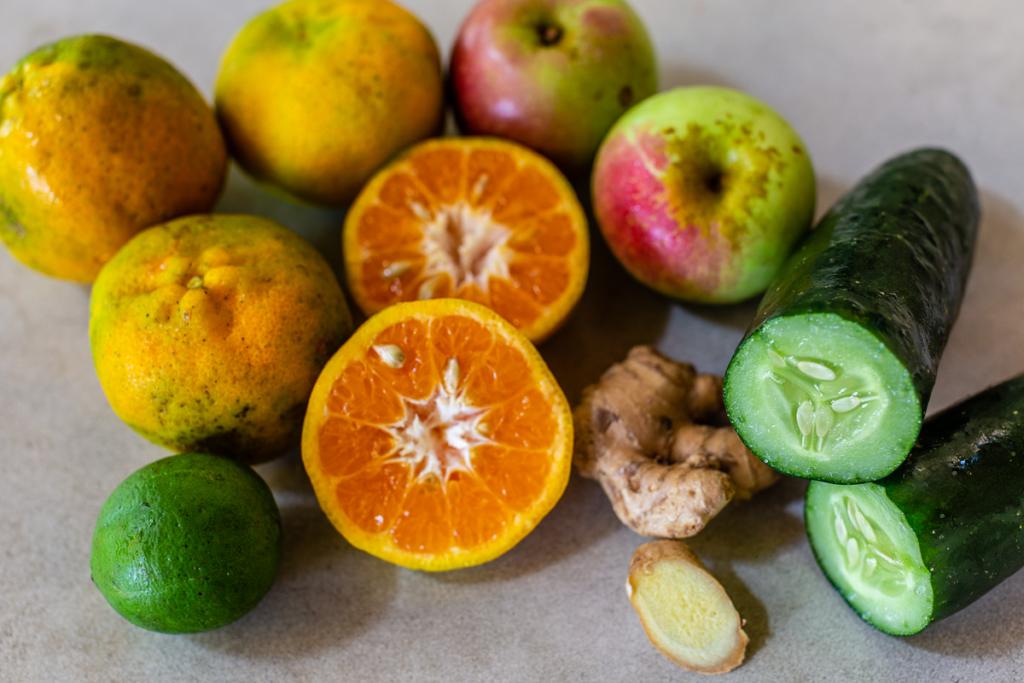 How to Make Juice Ingredients