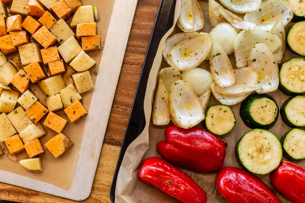 Roasted Vegetables How To