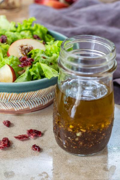 Recipe for Balsamic Salad Dressing