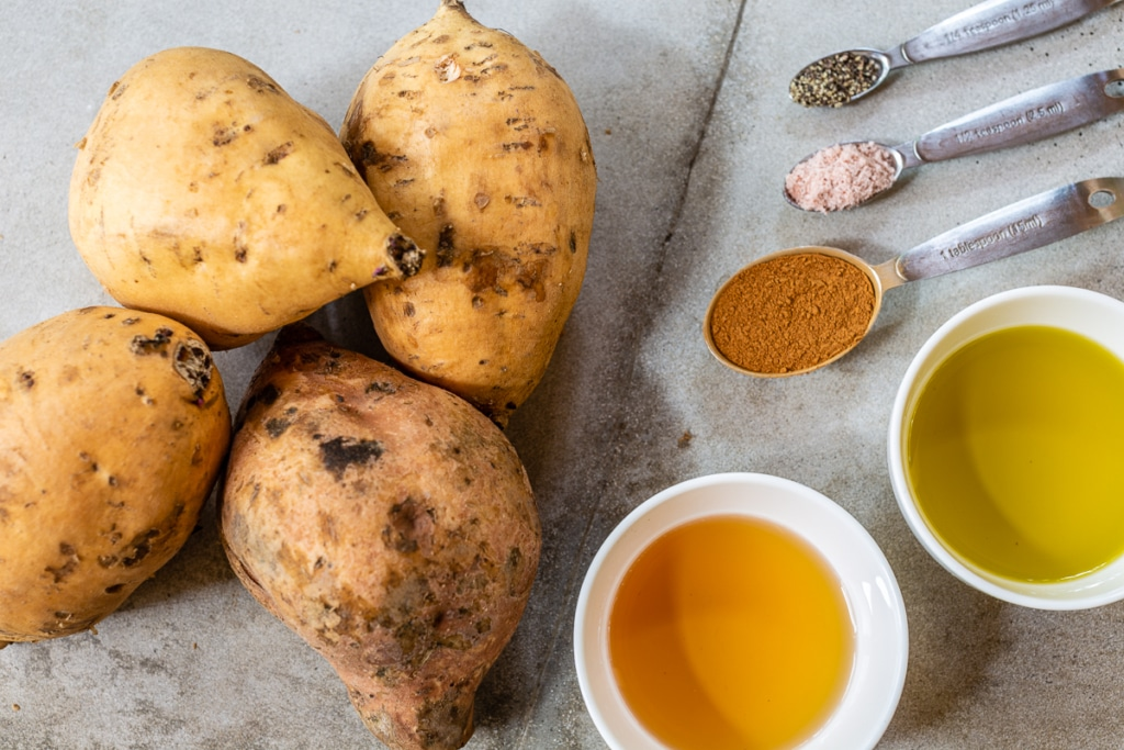 Recipe for Sweet Potatoes in Oven Ingredients