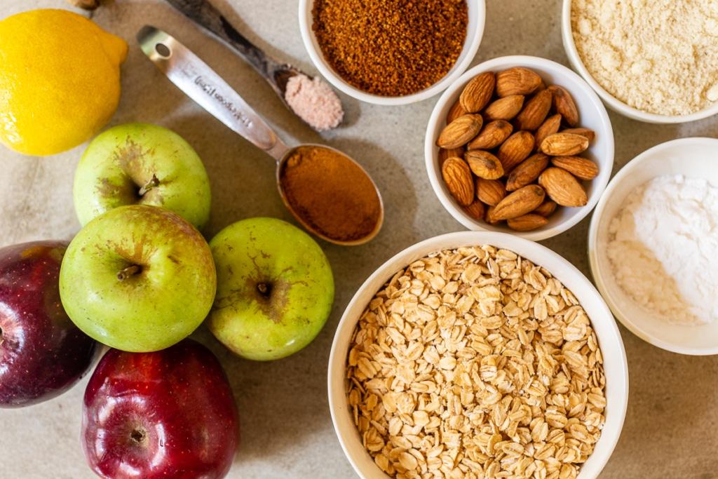 Recipe Apple Crisp with Oats Ingredients