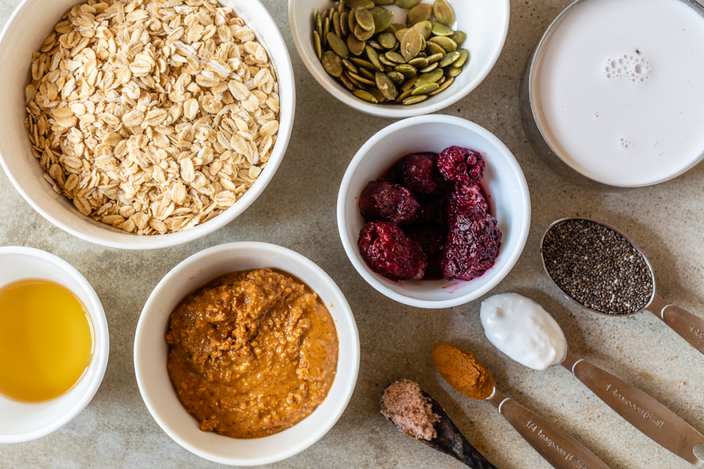 How to Make Muesli Ingredients