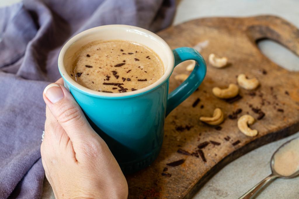 Warm Almond Milk Drink