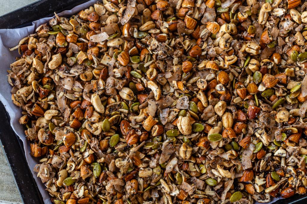 Recipe for Crunchy Granola