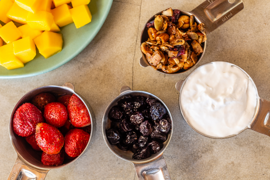 Fruit Salad for Breakfast Ingredients