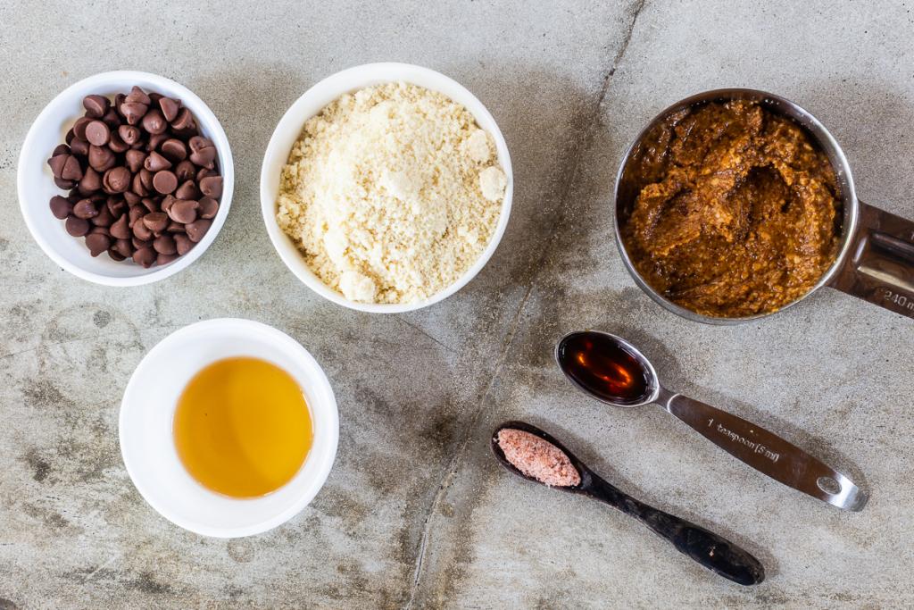 Energy Balls No Bake (Cookie Dough Ones) Ingredients
