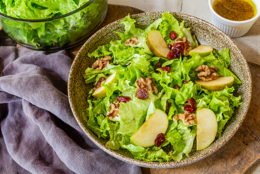 Salad Recipe with Apples