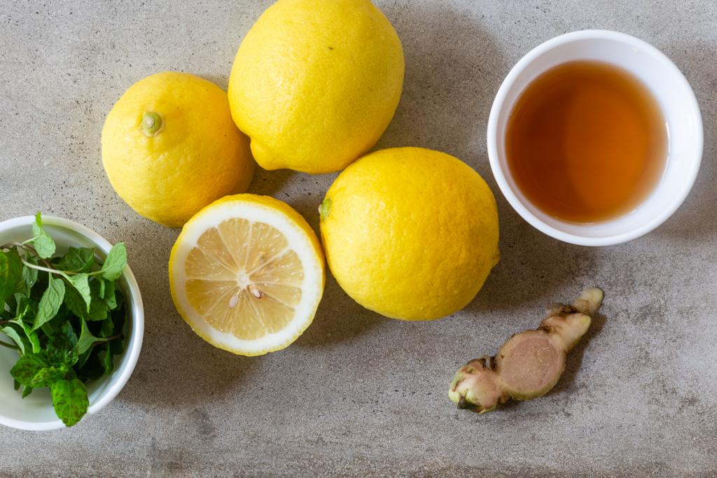 Lemonade from Lemon Juice Ingredients