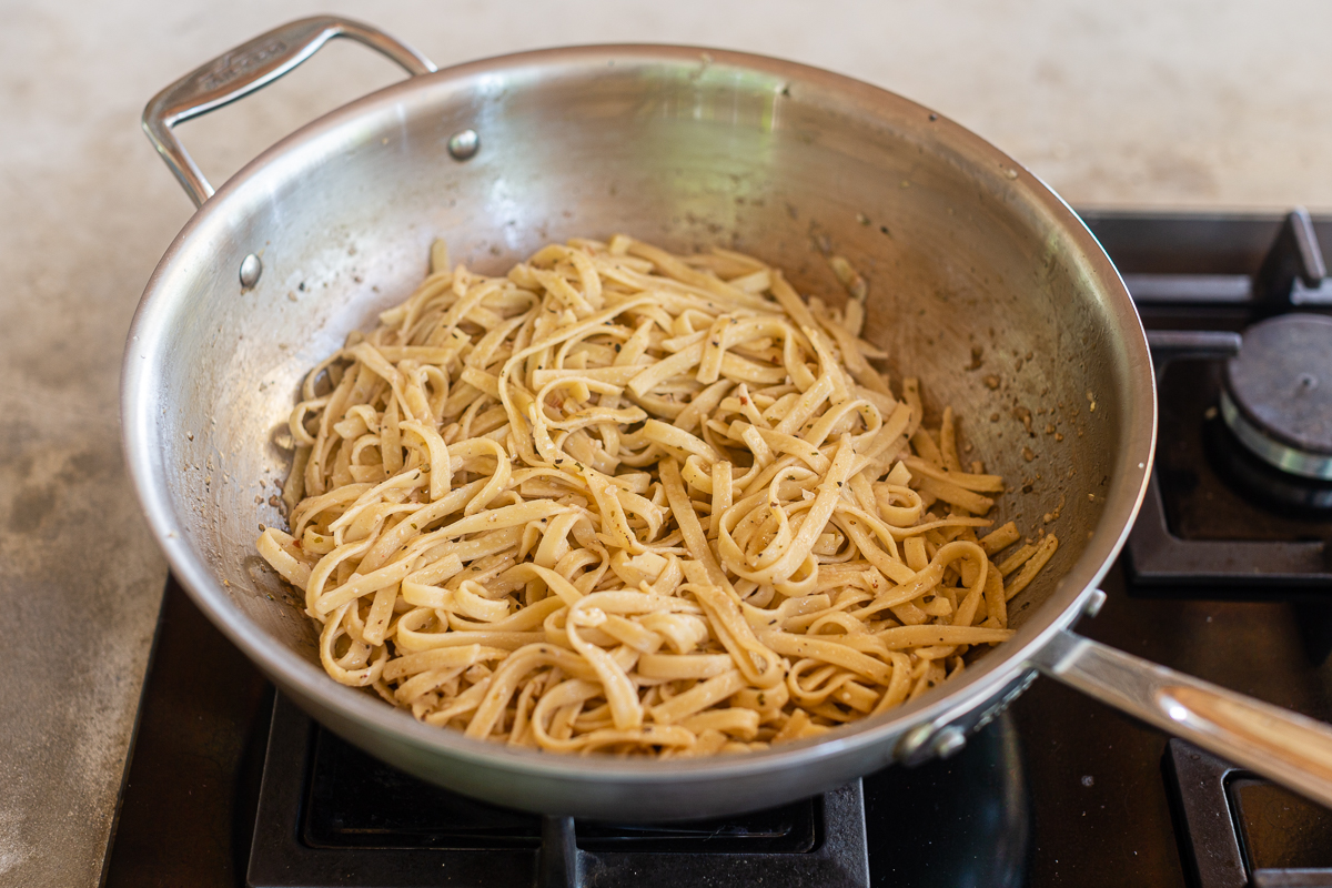 Recipe for Pasta Noodles