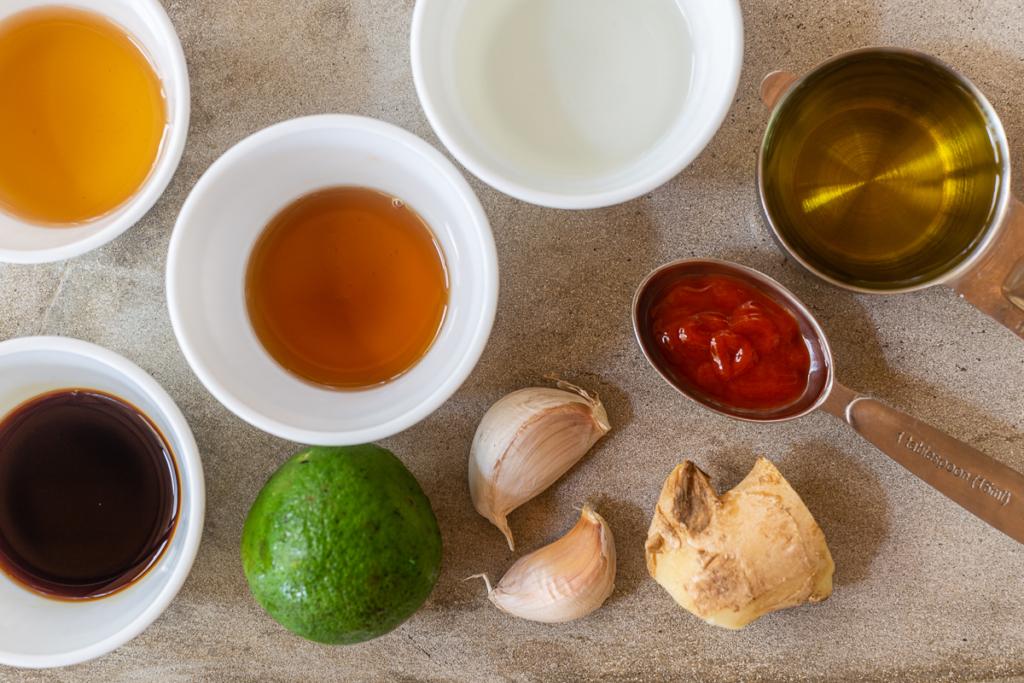 Recipe for Ginger Salad Dressing Ingredients