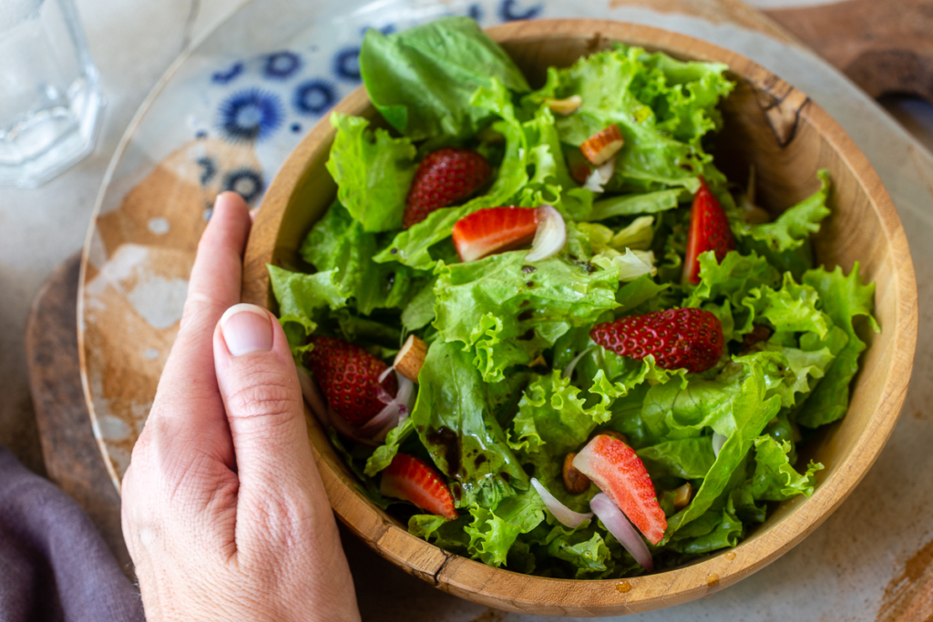Salad with Strawberries Recipe