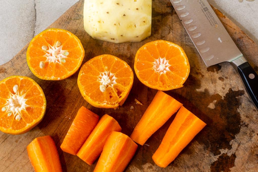 Recipe for Carrot Juice Ingredients