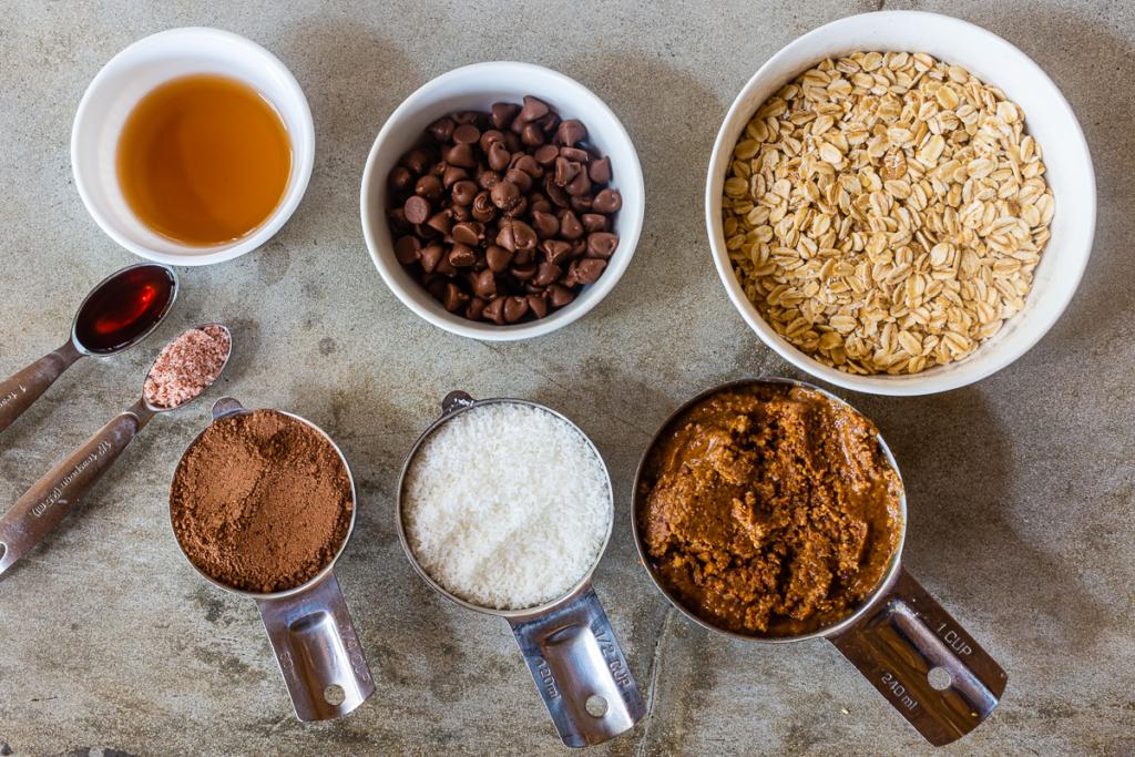 Peanut Butter Balls Oatmeal Ingredients