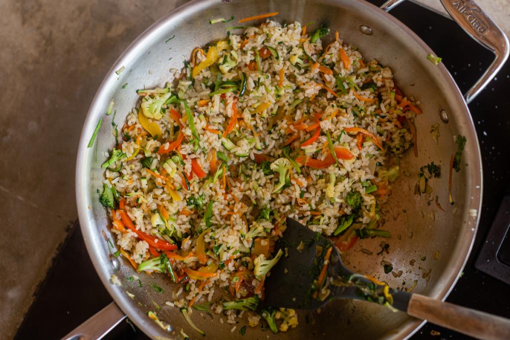 Fried Rice Recipe Simple